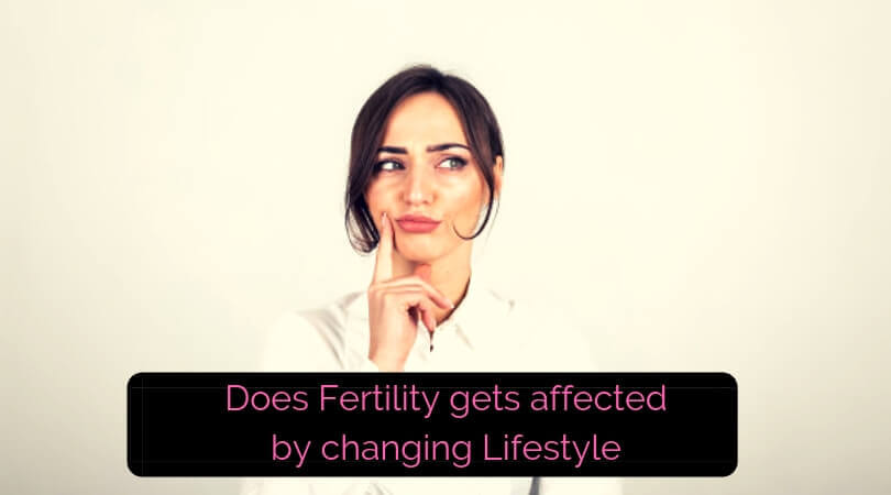 Does Fertility gets affected by changing Lifestyle